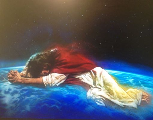 CHRIST-PRAYING-OVER-EARTH